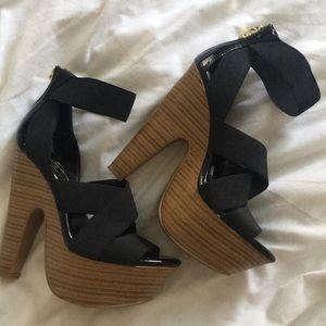 Jessica Simpson Tookie Platform Sandals